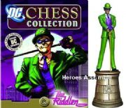 DC Chess Figurine Collection #08 Riddler Black Bishop Eaglemoss
